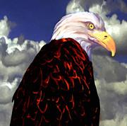 Nadine Johnston - Bald Eagle Yellowstone...