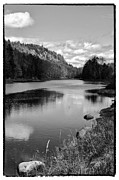 Lake George Acrylic Prints - Bald Mountain Pond Looking North Acrylic Print by David Patterson