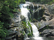 Laura Watts Photo Metal Prints - Bald River Falls Metal Print by Laura Watts