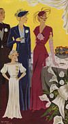 Featured Metal Prints - Baldrich 1936 1930s Spain  Cc Womens Metal Print by The Advertising Archives