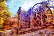 Bale Grist Mill Print by Kaylee Mason