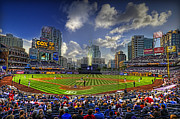 San Diego Padres Stadium Photo Framed Prints - Ball Park Framed Print by Corey Gautereaux