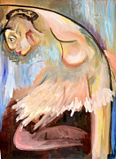 Oversized Painting Originals - Ballerina by Carol Scavotto