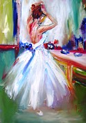 Ballerina Art - Ballerina Girl by Mary Cahalan Lee