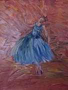 J L Zarek - Ballerina in Blue
