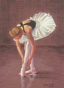Sacred Pastels Originals - Ballerina by Tonya Butcher
