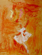 Elegant Pastels Originals - Ballerinas by Stephanie Ward