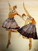Filter Paintings - Ballet dance 2 by Pornchai Lerttamasiri