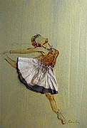 Filter Paintings - Ballet dance 3 by Pornchai Lerttamasiri