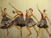 Filter Paintings - Ballet dance by Pornchai Lerttamasiri