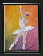 Tonya Butcher Framed Prints - Ballet Dancer 1 Framed Print by Tonya Butcher