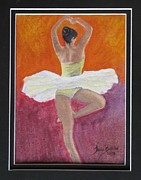 Tonya Butcher Framed Prints - Ballet Dancer 2 Framed Print by Tonya Butcher