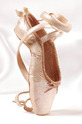 Silk Photos - Ballet Shoe by Kitty Ellis