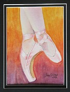 Tonya Butcher Framed Prints - Ballet Shoes Framed Print by Tonya Butcher