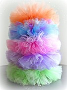 Tutus Photos - Ballet Tutus in a Colorful Stack by Tricia SweetRascal Photos