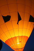 Ballon-glowyellow-7703 Print by Gary Gingrich Galleries