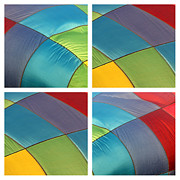 Balloon Fest Framed Prints - Balloon Color Framed Print by Art Blocks