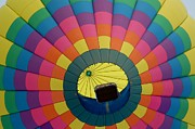 Patrick Shupert Metal Prints - Balloon Lift-off  Metal Print by Patrick Shupert