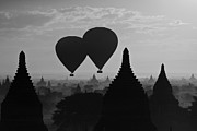 Jason KS Leung - Balloon Over Bagan