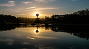 Randal Ketchem - Balloon Over Snohomish...