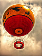Walt Disney World Photographs Posters - Balloon Ride Walt Disney World FL Poster by Thomas Woolworth