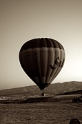 Colorful Photography Pyrography Framed Prints - Balloon2 Framed Print by Ernesto Cinquepalmi