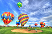 Colorado Photography Framed Prints - BalloonFest4 Framed Print by Scott Mahon