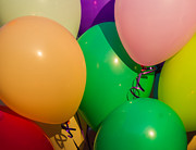 Party Balloons Prints - Balloons Horizontal Print by Alexander Senin