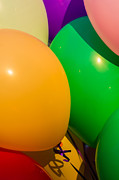 Party Balloons Prints - Balloons Vertical Print by Alexander Senin