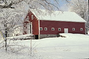 Gail Maloney Art - Ballous Barn by Gail Maloney