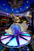 Adventure Of The Seas Prints - Ballroom Dancing Statue Print by Amy Cicconi