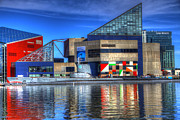 David Simons Art - Baltimore Harbor by David Simons