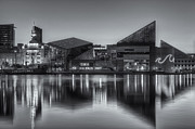 Patapsco River Photos - Baltimore National Aquarium at Dawn II by Clarence Holmes