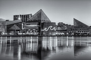 Patapsco River Photos - Baltimore National Aquarium at Dawn IV by Clarence Holmes