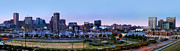 Seaport Posters - Baltimore Skyline Panorama At Twilight Poster by Susan Candelario
