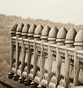 Balusters Photos - Balustrade by Brenda Conrad
