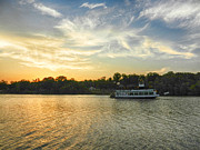 Bama Photos - Bama Belle Sunset by Ben Shields