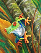 Amphibians Originals - Bamboo Buddy by JoAnn Wheeler