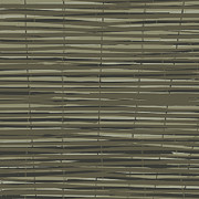 Bamboo Fence Art - Bamboo Fence - Gray and Beige by Saya Studios