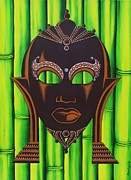 Bamboo Originals - Bamboo Mask by Joseph Sonday