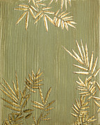 Leaves Reliefs Prints - Bamboozled Print by Katie Fitzgerald