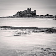England Landscape Posters - Bamburgh Castle Northumberland Poster by Colin and Linda McKie