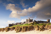Northumberland Prints - Bamburgh Castle Northumberland England Print by Colin and Linda McKie
