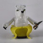 Coyle Glass - Banana Bear Gripping A...