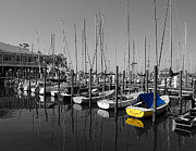Shrimp Boat Prints - Banana Boat Print by Michael Thomas