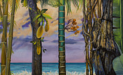 Tropic Paintings - Banana country by Vrindavan Das