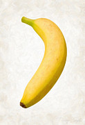 Snack Prints - Banana Print by Danny Smythe