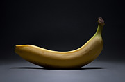 Eat Photo Prints - Banana In Limbo Print by Dan Holm