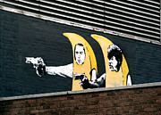 Old Street Metal Prints - Banana Pulp Fiction  Metal Print by A Rey