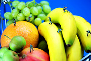 Miniature Photos - Band of brothers among fruits jungle little people on food by Paul Ge